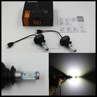 Auto12v LED headlight convertion kit 50w 8000lm h7 led head lamp bulb H7/H8/H9/H10/H11/H16/9005/9006 car front lamp h7 headlight