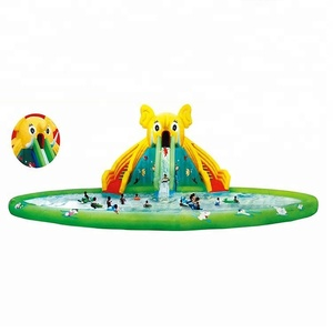 inflatable water rock climbing wall water slide inflatable inflatable bounce for kids HF-G180C