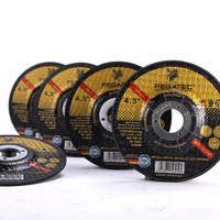 4.5'' 115x3x22mm T42 cutting disk for metal MPA