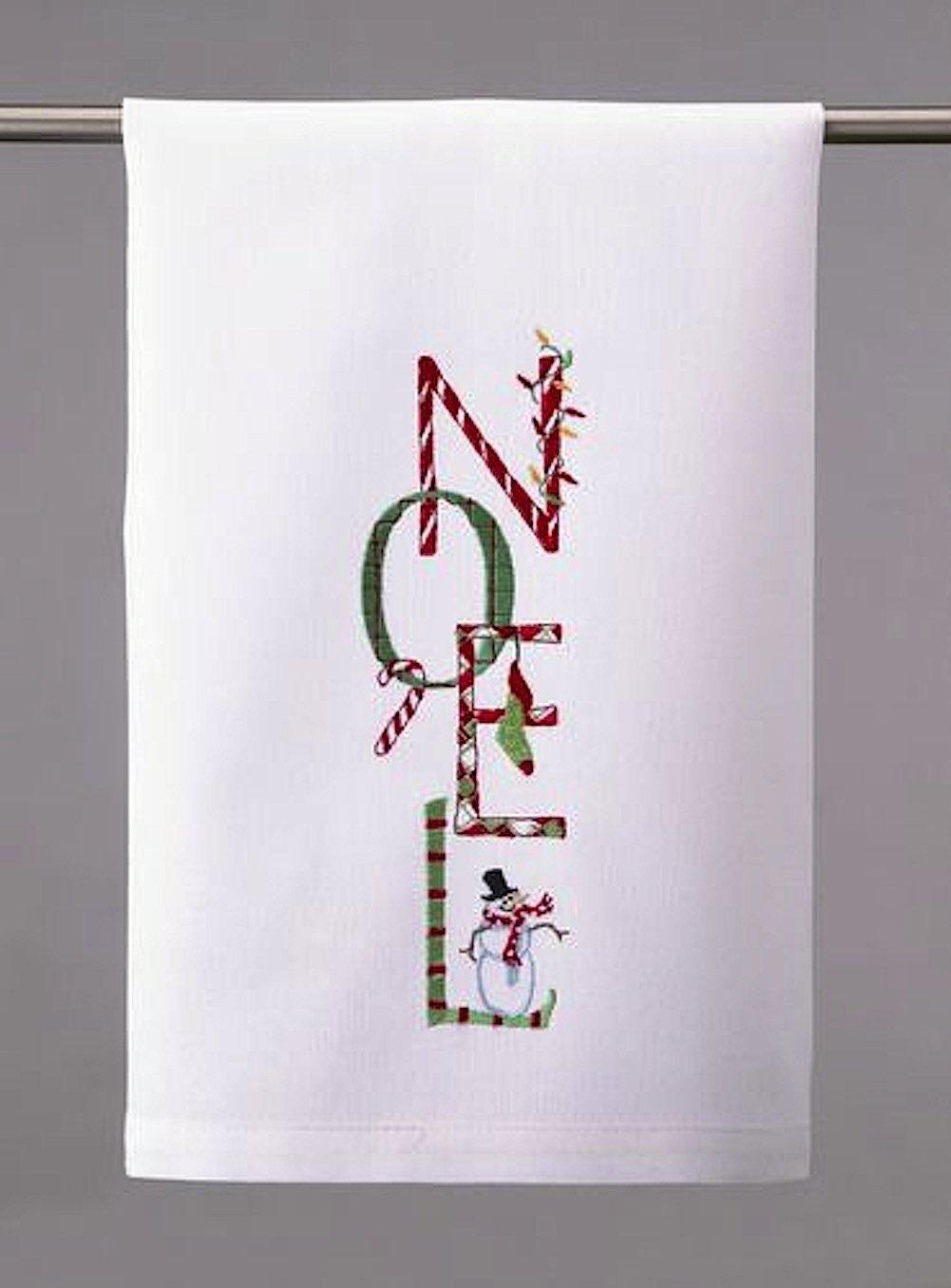 Christmas Towel Noel Kitchen Towel by Peking Handicraft