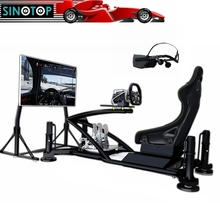 SINOTOP VR 9d virtual reality 4 dof 9d action cinemas chair vr screen 2 modes rally simulators