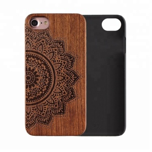 Best Products Cheap Price Real Rosewood Mobile Phone Case For iPhone 8 Wood Cover
