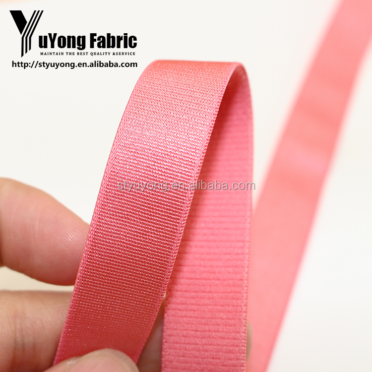 Best Silk Polyester Webbing Strap For Sports Bra