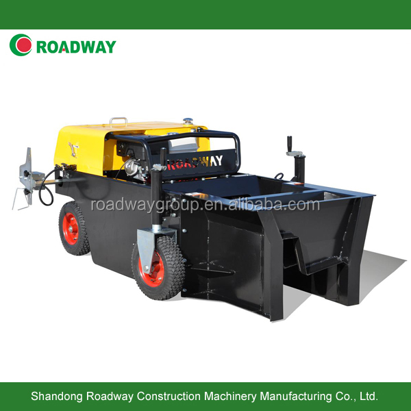 Highway road side concrete curb paver