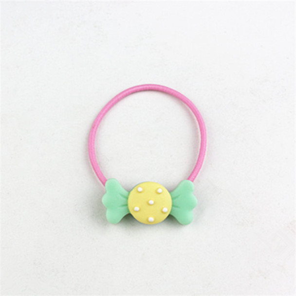 fashion style China custom wholesale elastic hair ties with cherry