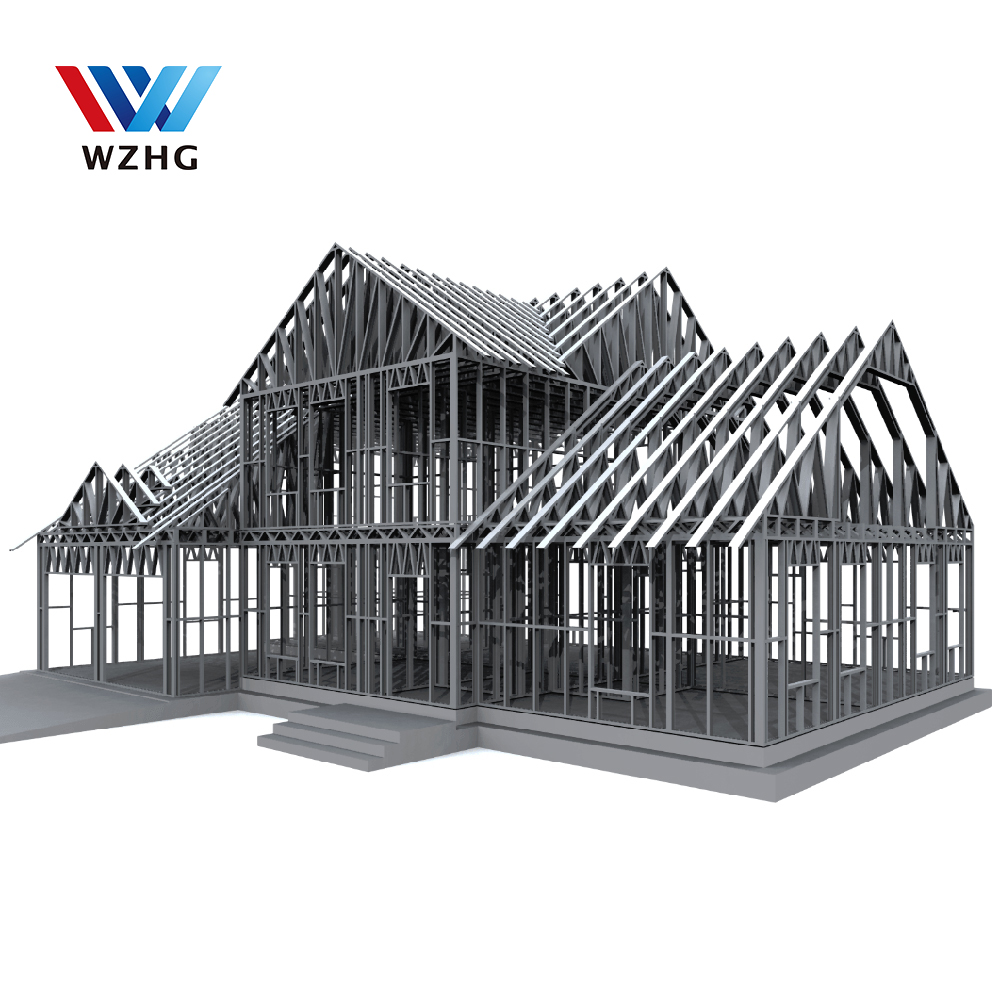 Lgs Light Gauge 50 Years Life Span Steel Assembled Fast Construction Steel Villa Buy Luxury Prefab Steel Villa Mobile Villa Small Villa Design Product On Alibaba Com
