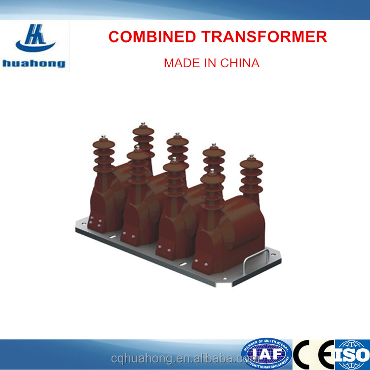 Indoor Usage Huahong JSZF18-3/6/10 Combined Type Casting Insulation Potential Transformer
