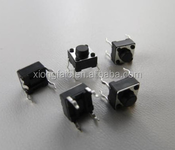 (Nuovo e Originale) Micro Push Button Switch 6x6x5mm 0.05A-12 V Pressione mini