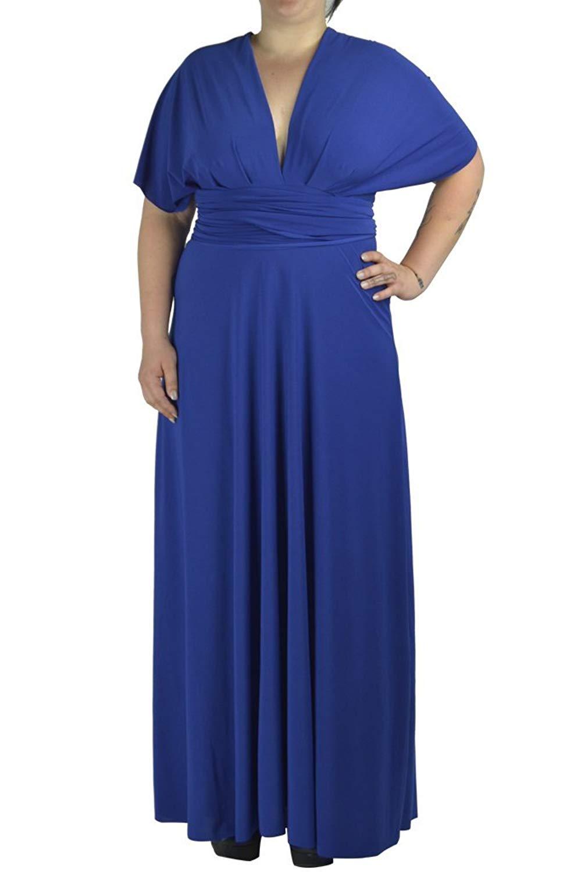 b8b7f528ffb Get Quotations · Von Vonni Transformer Infinity Dress Plus Size XL-3X Sizes