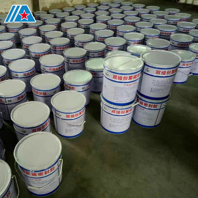 High modulus two component waterproof Polysulfide sealant
