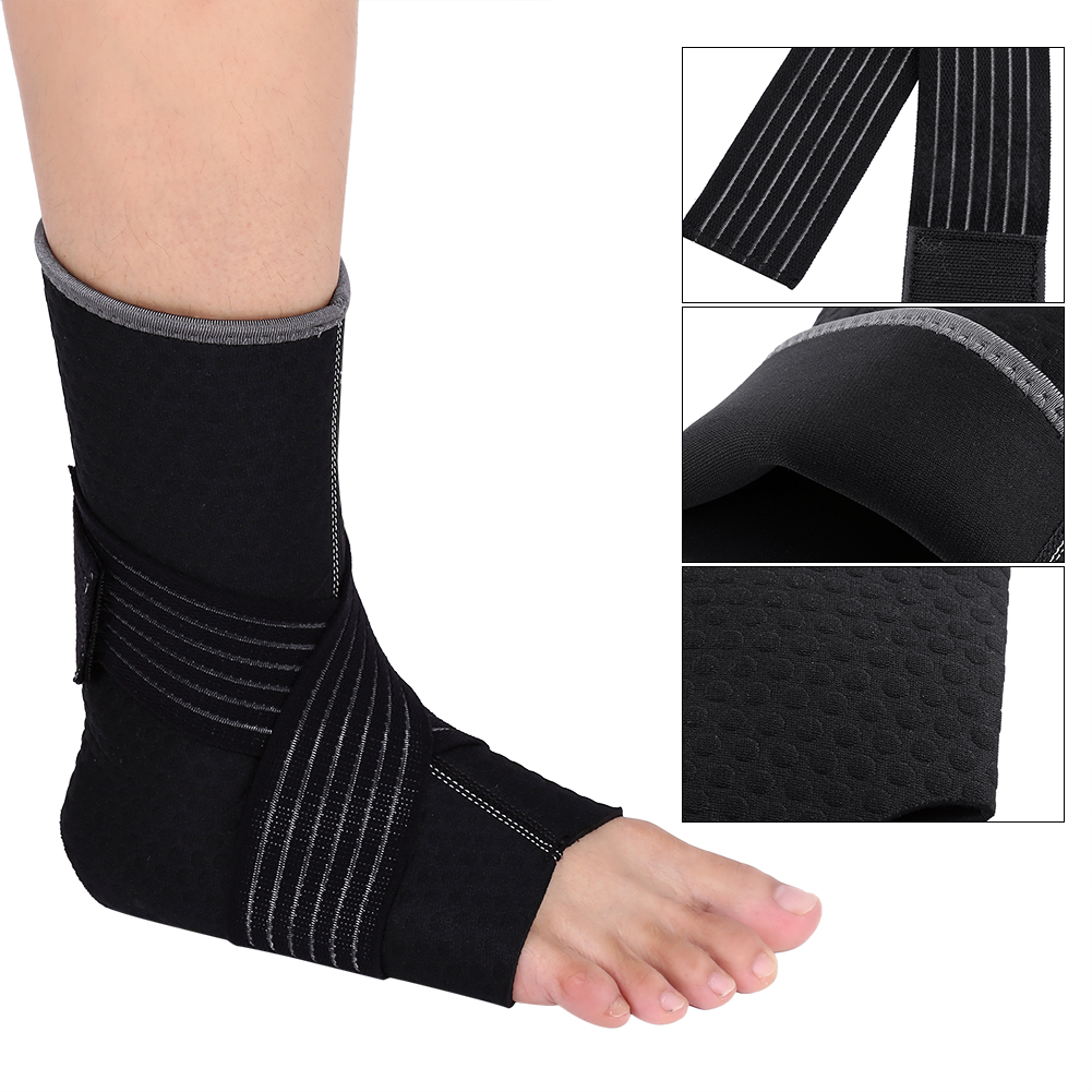 Fitness Taekwondo Ankle Support Protector Ankle Guard Foot Strap Protection Kickboxing Compression Bandage 100% Original Sports Accessories