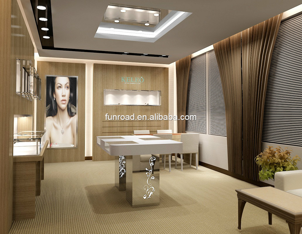Funroad high end jewellery shop interior decoration view jewellery shop interior decoration funroad product details from shenzhen funroad exhibition
