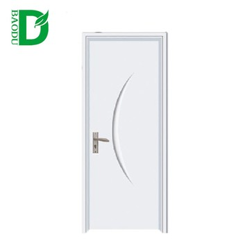 Cheap And Waterproof Pvc Bathroom Door Design Pvc Toilet Door Mdf