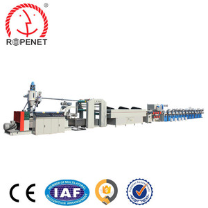 PP Plastic Processed and Film Application cable filler yarn extrusion machine