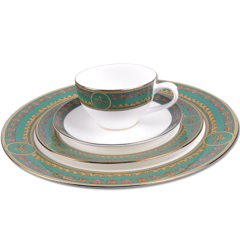 ... Fashion royal classic fine bone china dinnerware set green color wedding gift  sc 1 st  Shopping Guide - Alibaba & Cheap Dinnerware Fine China find Dinnerware Fine China deals on ...