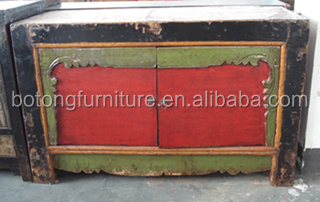 Chinese antique wooden painted cabinet LWB524