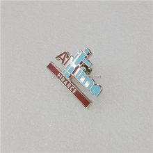 custom hard enamel lapel pins for sale, letter lapel pins, custiomizable pins for trading