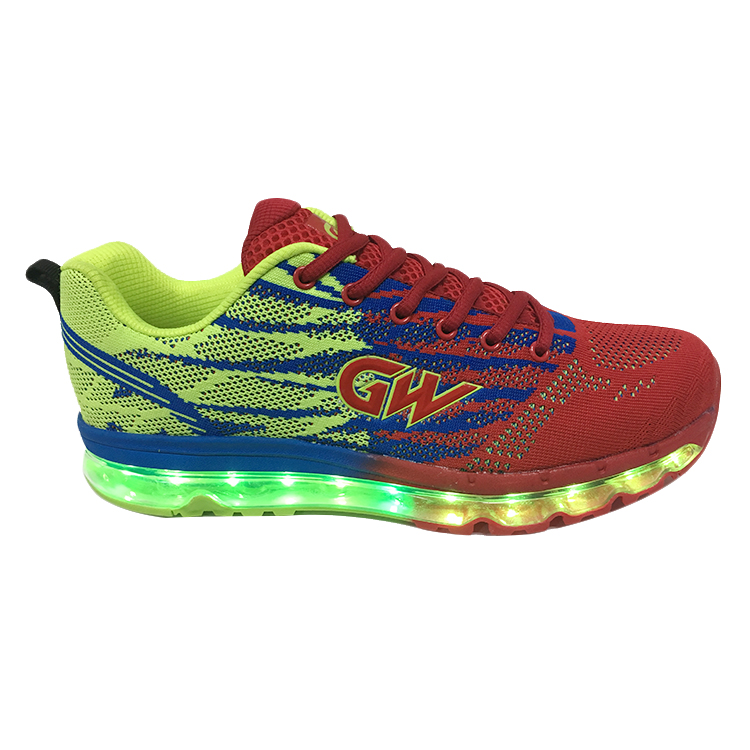 Colors Up Light Shoes Led Casual Shining Men PanvdP