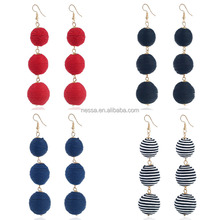 Fashion Ball Earring Korean Jewelry Brands wholesale NSZQ-0081