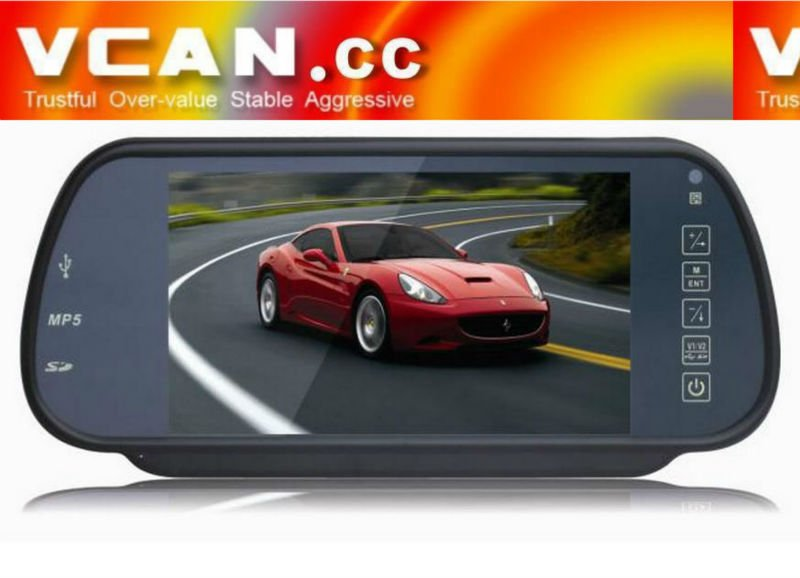 car lcd monitor sony with mp5 and bluetooth VCAN0304-8