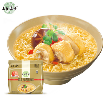 chinese famous instant noodles soup ramen instant noodles chicken aroma flavor