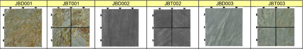 New model villas durable natural patio stone cheap floor tile