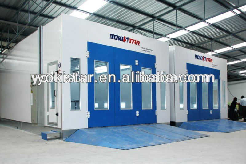 Spray Booth Is A Powder Coat Booth For Industrial Coating With ...