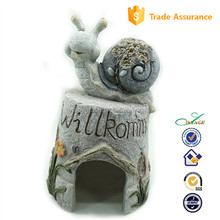MGO snail WELCOME garden animal house frog house
