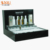 Black Acrylic Bottle Display Cosmetics Body Stand Essential Oil Display Rack
