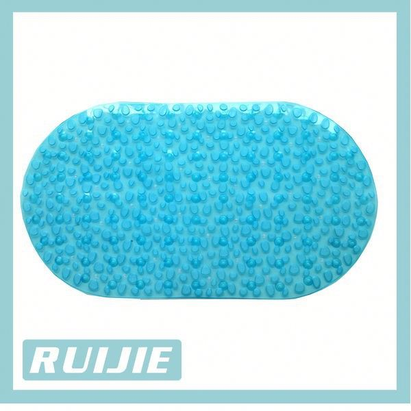 Best Sell Decorative Baby Oval PVC Bath Mats Child Like Shower Safety Bathtub Mat
