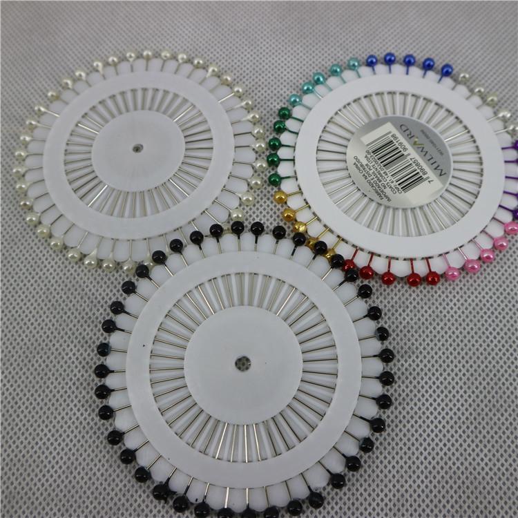 Wholesale classic hijab pins cheap crystal muslim ladies shawls accessories