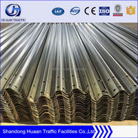 New style corrugated beam guardrail