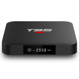 Shenzhen IMO 4K video real player tv box T95 S1 S905W 2G 16G with ATV  satellite receiver universal remote control T95M T95N