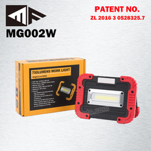 12V Portable 10W usb rechargeable battery inspection lamp cob led worklight