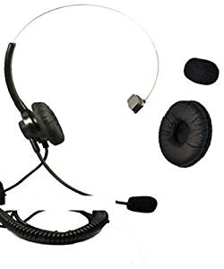 US Cable Mono Call Center Headset SPA Headset with 2.5mm plug for Panasonic KX-T7625 KX-T7630 KX-T7633 KX-T7636