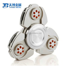 2017 Newly Hand Fidget Spinner titanium edc spinner Original factory price metal wind spinner
