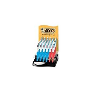 Bic 4-color Ballpoint Pen: 12 Medium/24 Fine Points - Display box