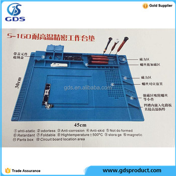 S-160 High Temperature Resistant Station maintance pad mat 45cm 30cm
