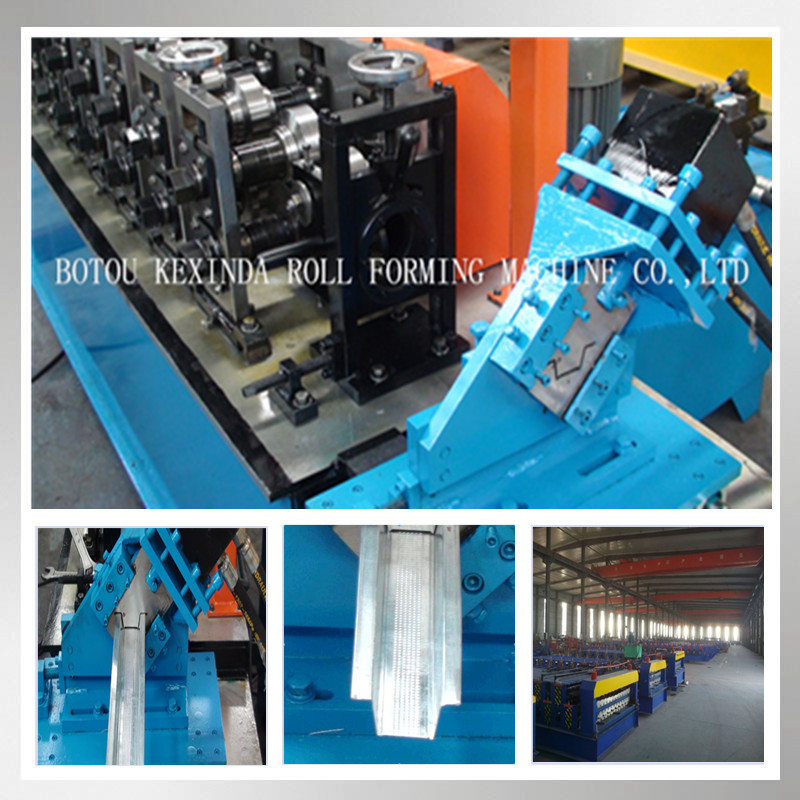Omega Profile Making Machine, Drywall Light Gauge Steel Cold Roll Forming Machine Supplier
