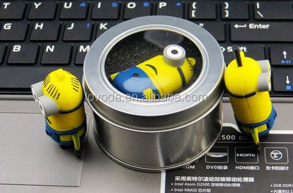 Minions Usb Pen Drive,Human Face On Banana Usb Key