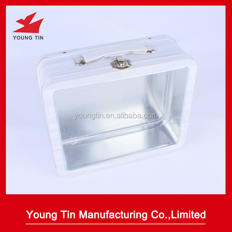 Metal Lunch Tin Part - 32: Custom Tin Lunch Box, Custom Tin Lunch Box Suppliers And Manufacturers At  Alibaba.com