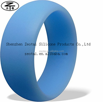 wholesale cheap silicone rubber wedding rings fashion custom silicone wedding ring for sports parties - Sports Wedding Rings