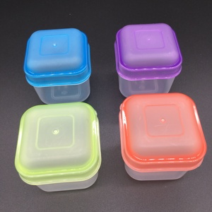 Custom made reusable good performance small plastic containers