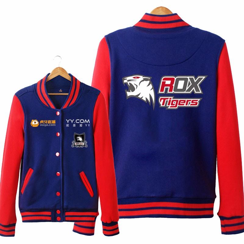 2019 Wholesale ROX Tigers LOL S6 Unisex Hoodies Cosplay Sweatshirt ... 58527a208140