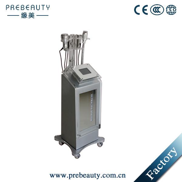 Ultrasonic RF vacuum cavitation weight loss machine