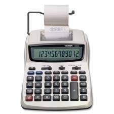 """12-Digit Calculator, 2-Color Printing, 6""""""""x8-1/4""""""""x1-3/4"""""""",WE, Sold as 1 Each"""
