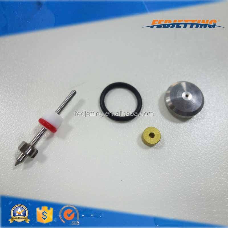 alibaba audited supplier metal water jet cutting machine abrasive on/off valve repair kit