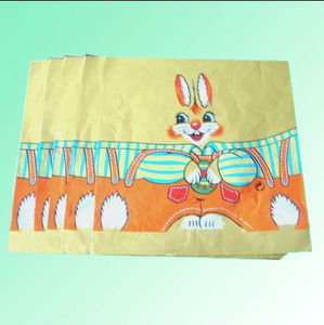 pure aluminum foil wrapper with rabbit design
