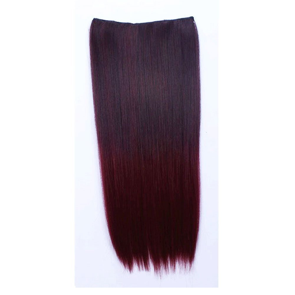 Buy Simpleyourstyle 15colors Ombre Hair Extension Synthetic Clip In