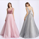 2018 New Design Party Dress Fashionable Bridesmaids Long Dress
